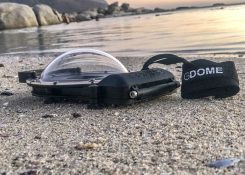 GDOME waterproof smartphone dome adds a new perspective to your photography