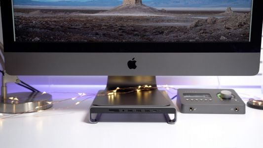 Review: Satechi's aluminum iMac stand affords handy, front-facing I/O