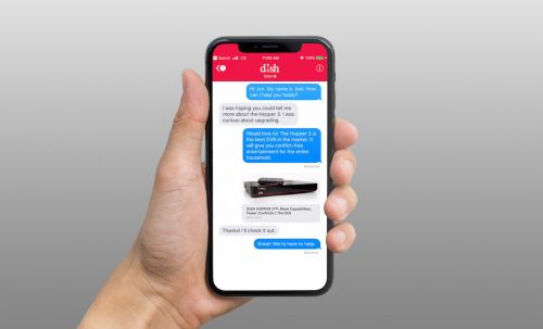 Dish Becomes First Pay-TV Provider to Support Apple Business Chat