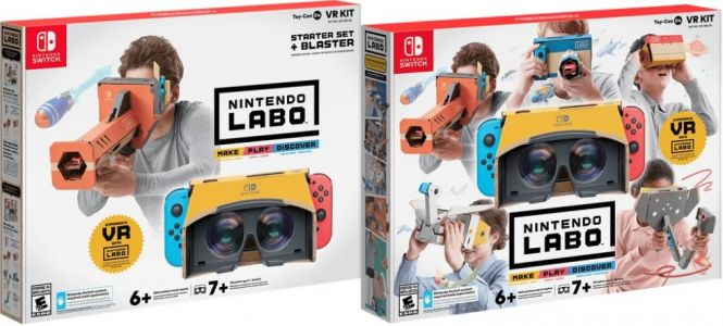 Nintendo's first VR product in 24 years is coming to Nintendo Switch