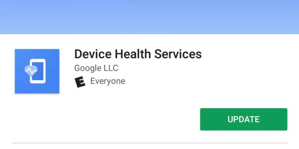 Google Pixel, Nexus battery app is now updated via the Play Store as 'Device Health Services'