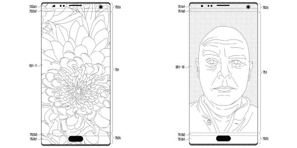 Samsung patent aims to beat iPhone X notch with holes in the display itself