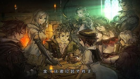 Octopath Traveler Keeps Name, Launches July 13
