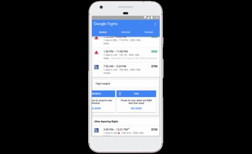 Google Flights, Trips, And Hotel Search Get Price-Tracking