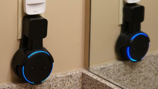 Hands-on: Echo Dot wall mounts are ideal for counters and small spaces