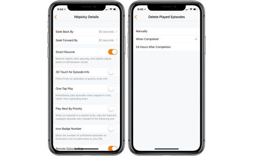 Overcast updated to version 4.1