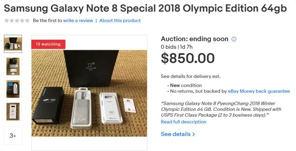 Samsung Gifting Unique Galaxy Note 8s At 2018 Paralympics