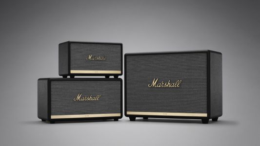 Marshall rocks out with new line of Bluetooth home speakers