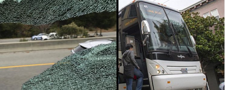 Apple employee shuttles are being attacked during work commute to campus