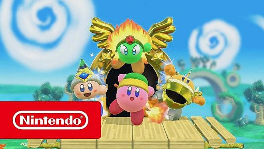 Kirby Shares the Love on Nintendo Switch This Spring