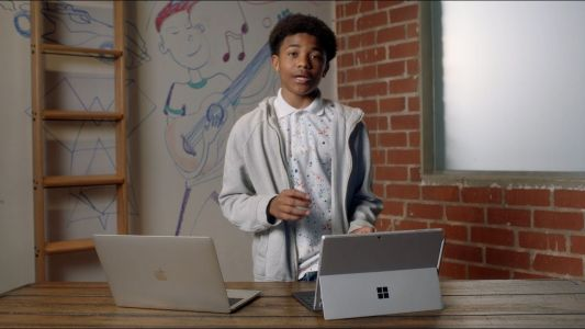 Video: Microsoft takes shots at Apple's MacBook Pro in new ad for Surface Pro 7