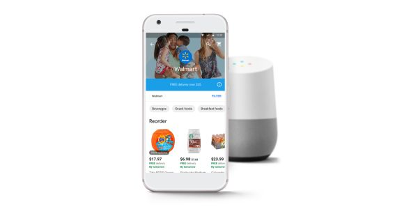 You can now order from Walmart using Google Home