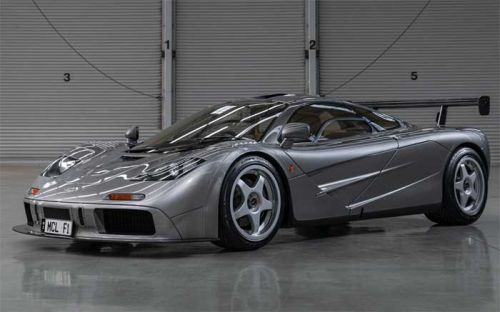 One of Two McLaren F1 LMs heads to auction