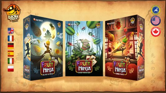 'Fruit Ninja' to Become 3 Board Games, Hopefully Won't Come With Knives