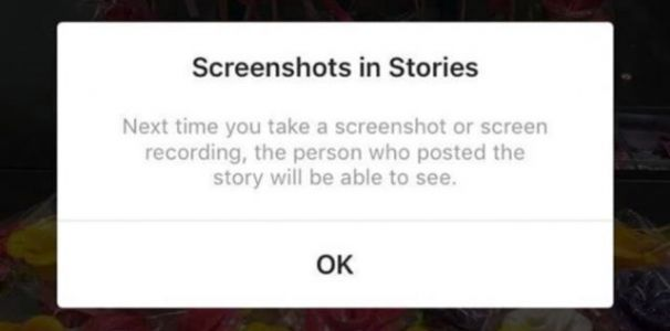 Instagram creepers will be exposed when they take screenshots
