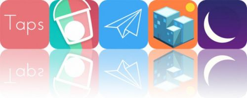 Today's Apps Gone Free: Taps, Drop Flip Seasons, FlightReady and More