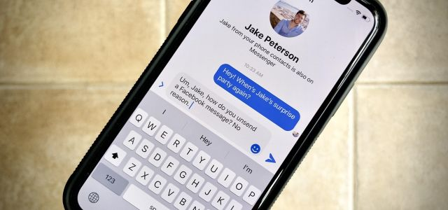 How to Unsend Messages in Facebook Messenger Chats So Your Recipients Can't View Them