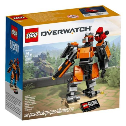 First Overwatch LEGO Set Revealed 'Omnic Bastion'