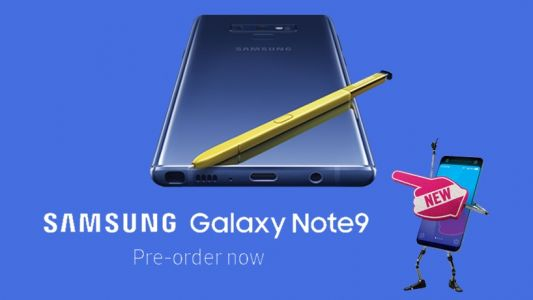 Get a £40 Amazon.co.uk Gift Card with Note 9 deals from Carphone Warehouse