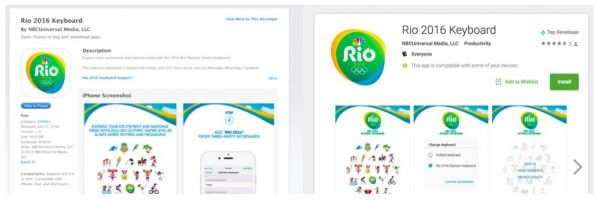 Rio Olympics 2016 keyboard app unintentionally violated user privacy