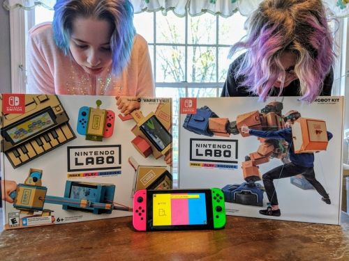 Check out these amazing projects created using Nintendo Labo Garage!