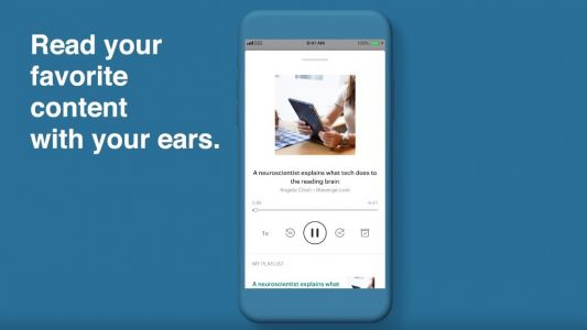 Read-it-later app Pocket turns saved web pages into a personal podcast