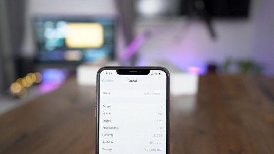 How to check iPhone storage