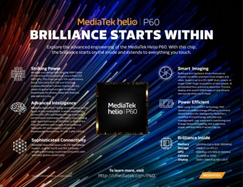 MediaTek Brings AI To Mid-Range Devices With Helio P60