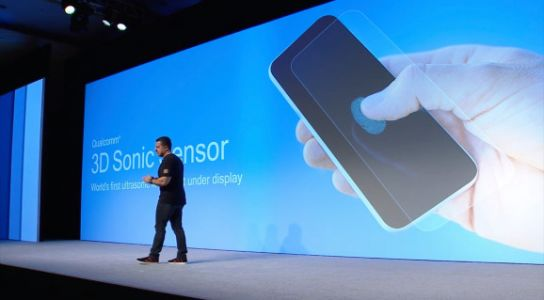 Qualcomm's 3D Sonic Sensor lets phone and watch screens reliably scan fingers