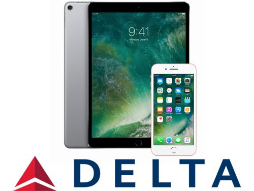 Delta to Equip More Than 30,000 Flight Crew Members With iPads and iPhones