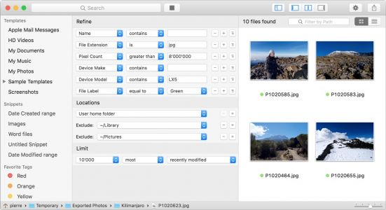 Keep Your Files at Your Fingertips with HoudahSpot