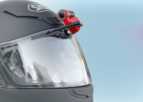 WiPEY helmet wiper for bikers