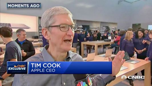 Tim Cook says iPhone 8 in 'good supply' on launch day, Apple Watch Series 3 LTE issue 'very minor'