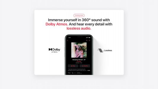 Apple confirms Apple Music Lossless coming soon to India