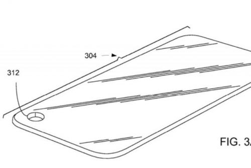 Apple Patents Display With A Hole For The Front-Facing Camera