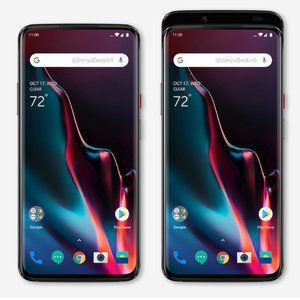 OnePlus 7 image leaked, new render then appears