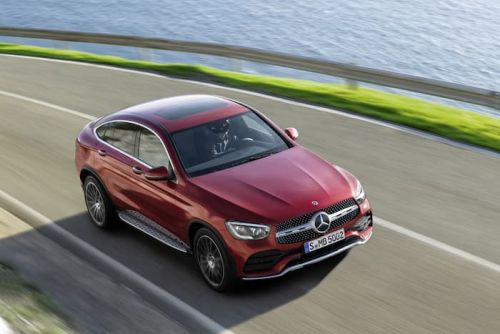 New Mercedes GLC Coupe shown off on video