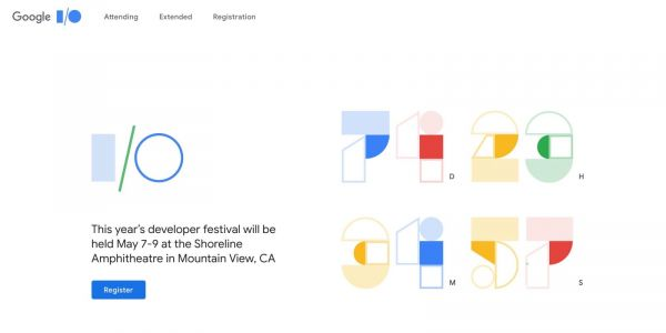 Google I/O 2019 applications now open w/ drawing on Feb 28th, tickets cost $1,150