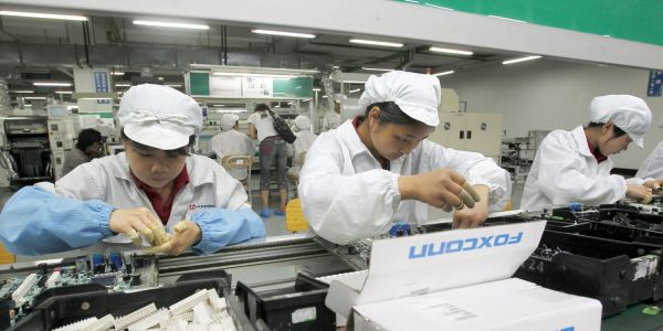Foxconn says it 'immediately' ended illegal overtime by students on iPhone X production line