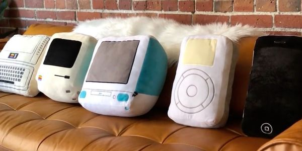 Kickstarter campaign offers nostalgic Apple pillow collection without saying so