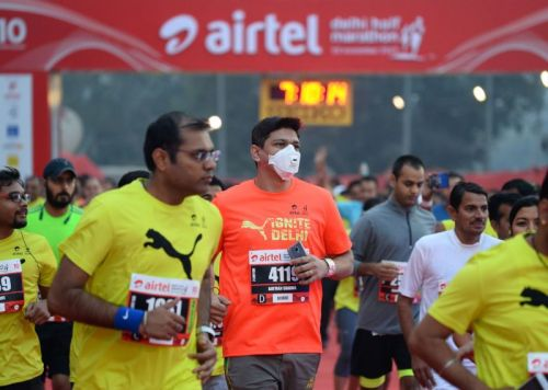 Delhi smog levels drop from severe to very poor-you know, half-marathon weather
