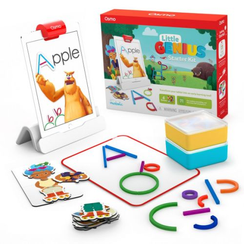 Osmo Little Genius Starter Kit targets preschoolers with hands-on games