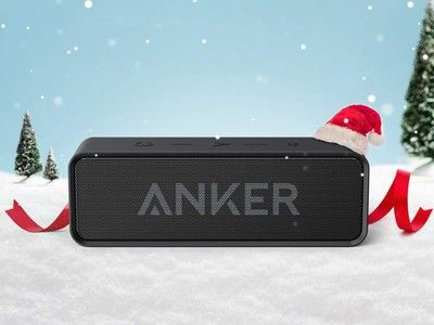 Get 24 hours of playback for $21 with the Anker SoundCore Bluetooth speaker