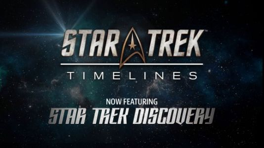 Star Trek: Timelines is adding content from the new Discovery show