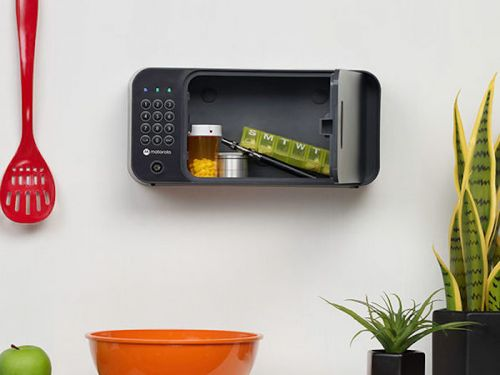 Save 9% on the Motorola Smart Safe with Secure Wall Mounting