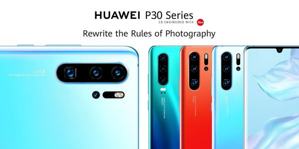Huawei P30 and P30 Pro go official w/ 10x lossless hybrid zoom, 4x cameras, in-display fingerprint