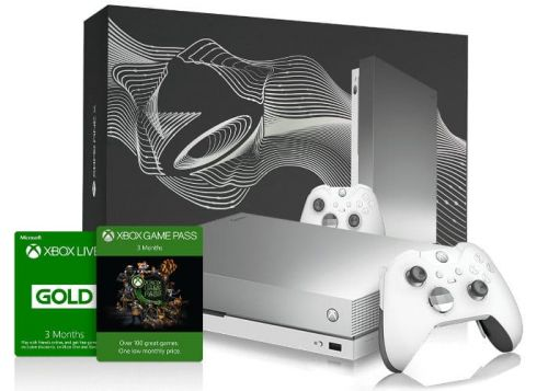 Limited Edition Platinum Xbox One X Bundle available to win from Taco Bell