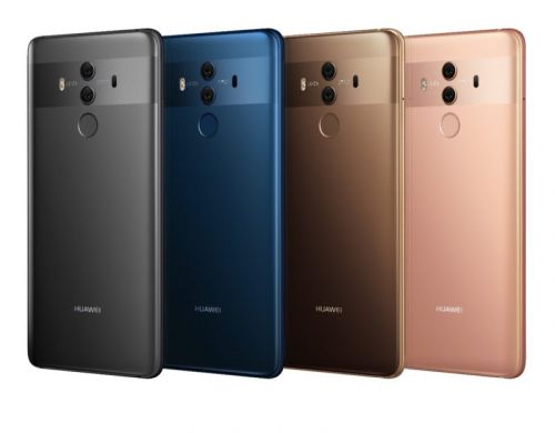 Huawei's Mate 10 Android Phablets Cost Between $825 & $1645
