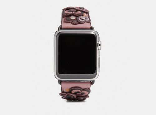Coach Unveils New Apple Watch Bands For The Summer