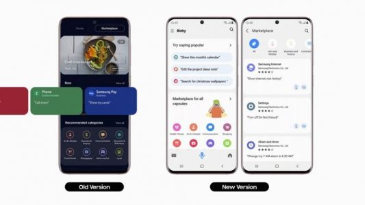 Samsung Bixby voice assistant update adds new features